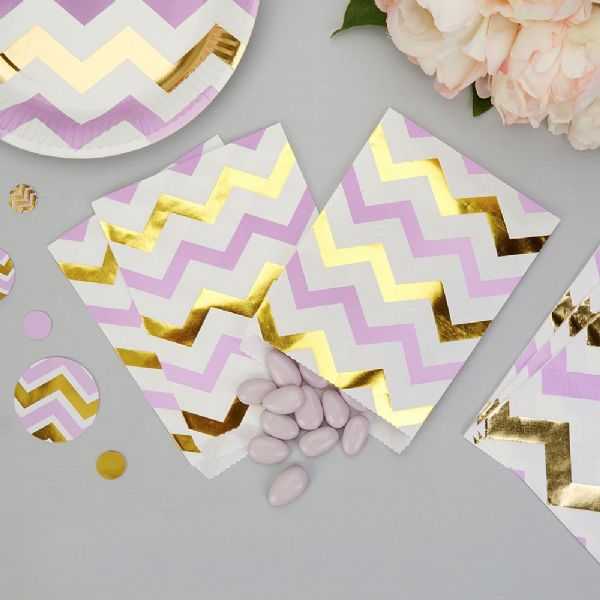 Pattern Works Lilac Chevron Sweet Bags (25)
